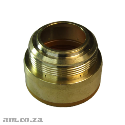 AM.CO.ZA MetalWise™ Mach™Three 2<sup>nd</sup> Generation 130A Plasma Air-Cooling Mechanized Torch Copper Cap Each