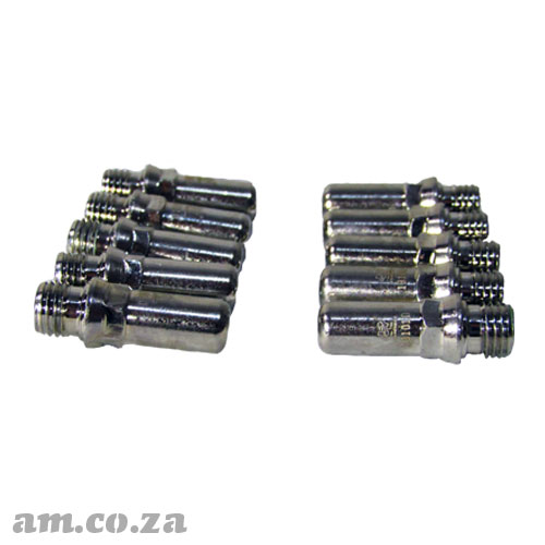 AM.CO.ZA MetalWise™ Mach™Two 100A Plasma Air-Cooling Mechanized Torch Electrode Pack of 10