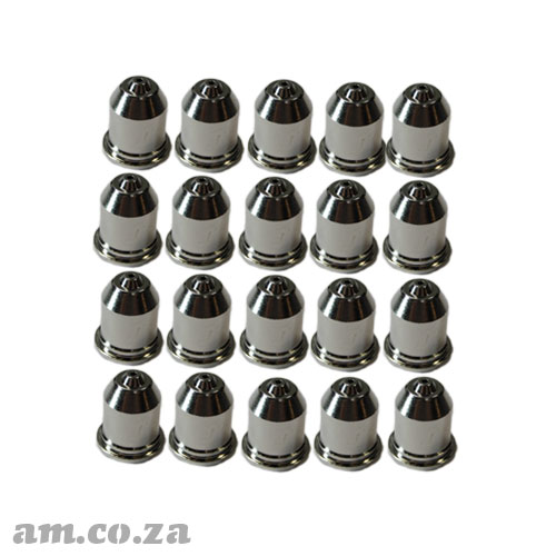 AM.CO.ZA MetalWise™ Mach™Two 100A Plasma Air-Cooling Mechanized Torch Full Power Nozzle Pack of 20