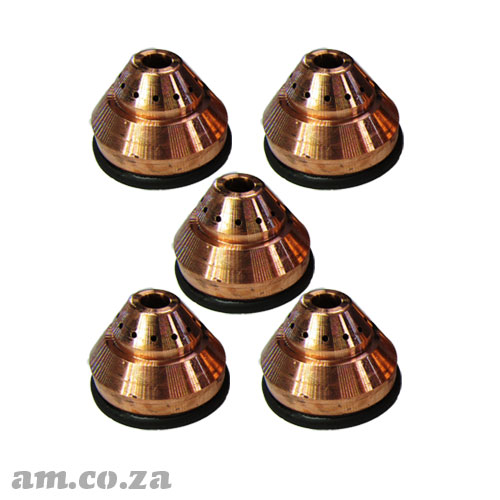 AM.CO.ZA MetalWise™ Mach™Four 200A Plasma Water-Cooling Mechanized Torch Shield Pack of 5