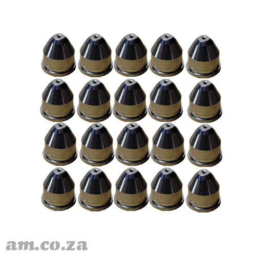 AM.CO.ZA MetalWise™ Mach™Four 200A Plasma Water-Cooling Mechanized Torch ≤150A Fine Cut Nozzle Pack of 20