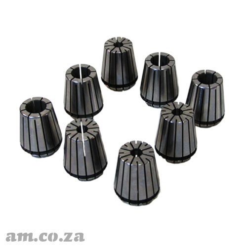 ER32 Collet Set, Includes 8 ER32 Collects for ATC CNC Router