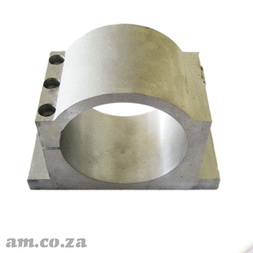 Φ100mm Solid Chromoly Steel Spindle Holder for Water Cool Spindle