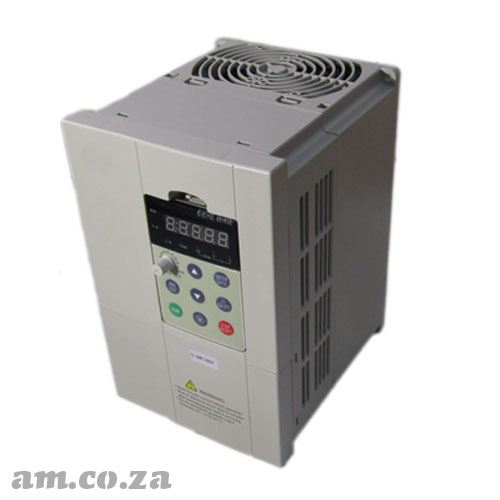 5.5kW Inverter for ≤5.5kW Spindle, Three Phase 380V for CNC Router