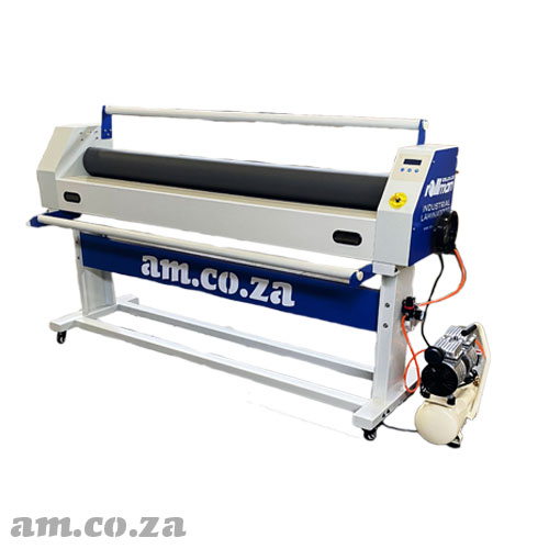 AM.CO.ZA Rollman™ Cold Industrial Laminator 1520mm Working Area with Maximum 20mm Laminating Thickness, Manual Rolling with Pneumatic Lifter