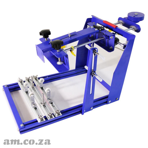 AM.CO.ZA ScreenMaster™ Bottle-Lite Screen Printer for Cylinder Objects ≤Φ170mm