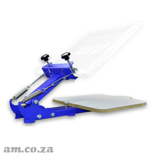 AM.CO.ZA ScreenMaster™ Table-Mountable Desktop Single Colour T-Shirt Screen Printer