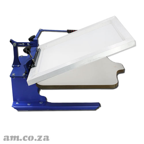 AM.CO.ZA ScreenMaster™ Stand-alone Desktop Single Colour T-Shirt Screen Printer