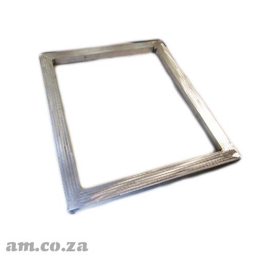 Welded Aluminium Screen Frame 400×500mm Inner Size (Blank No Mesh), Bar Width 37.5mm Thickness 25mm