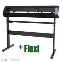AM.CO.ZA V-Smart™ Contour Cutting Vinyl Cutter 1310mm Working Area, plus FlexiSIGN Software