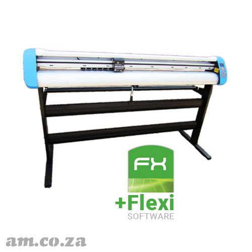 AM.CO.ZA V-Smart Plus™ Automatic Contour Cutting Vinyl Cutter 1660mm Working Area, plus FlexiSIGN AutoMark Edition