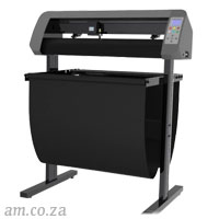 AM.CO.ZA V-Smart™ Contour Cutting Vinyl Cutter 740mm Working Area with Stand & Collection Basket