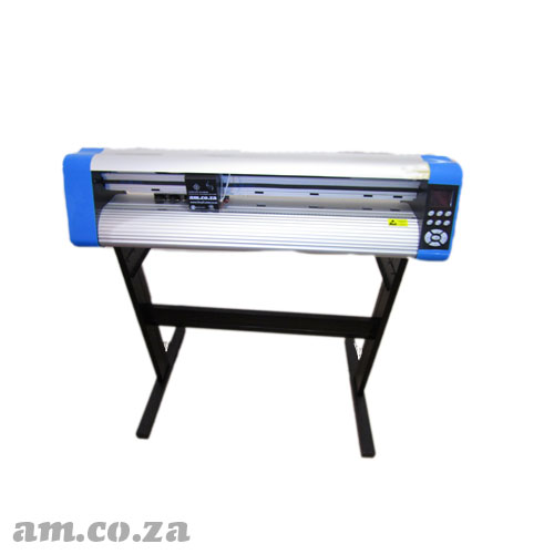 AM.CO.ZA V-Auto™ Superfast Wireless Vinyl Cutter 900mm with Automatic Contour Cutting Function, Steel Stand Included