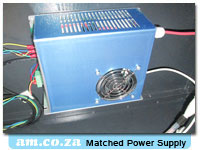 Matched Laser Power Supply