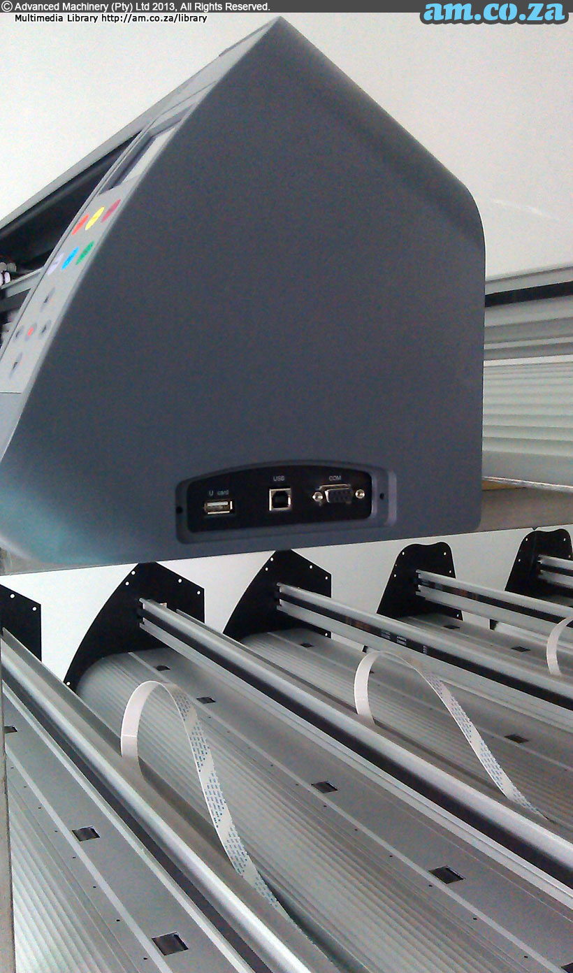 Vinyl Cutter Side View