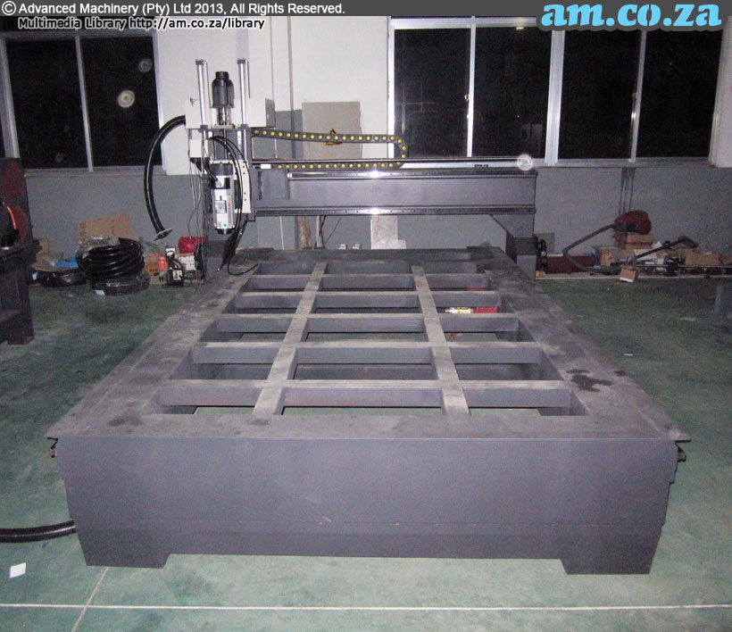 CNC Router Working Table Base