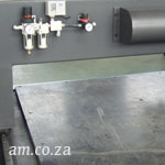 Unmachined Vacuum Table Surface