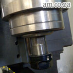 Spindle with Collet Nut